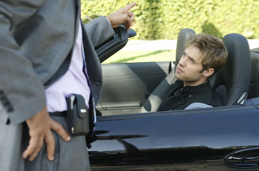 Gibt David (Shaun Sipos) nach, um Laurens Karriere zu retten? - Bildquelle: 2009 The CW Network, LLC. All rights reserved.