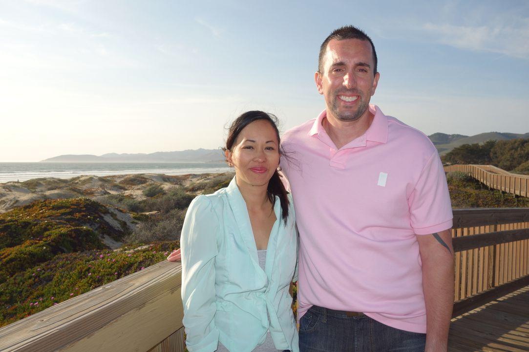 Finden Hun (l.) und Anthony (r.) die passende Immobilie in Pismo Beach für unter $375000? - Bildquelle: 2014, HGTV/Scripps Networks, LLC. All Rights Reserved.