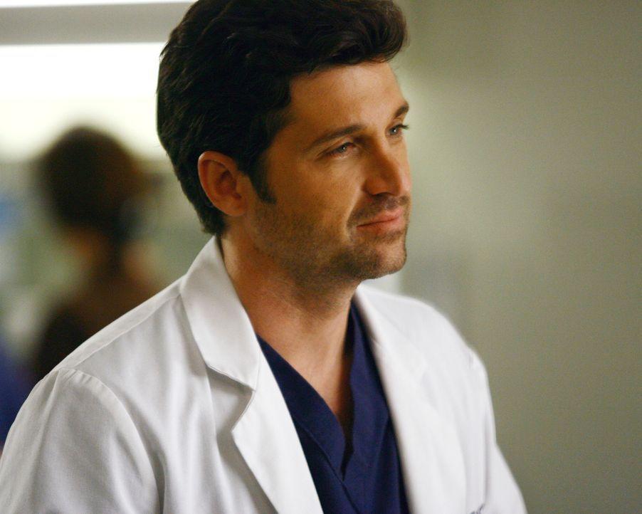 Derek (Patrick Dempsey) und Cristina kümmern sich um einen Patienten,  dessen Halswirbelsäule durchtrennt wurde ... - Bildquelle: Touchstone Television