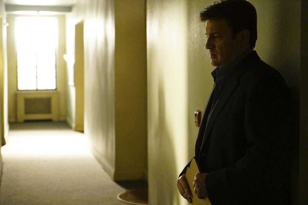 Castle (Nathan Fillion) ist nach den Erkenntnissen seines Traums völlig überfordert ... - Bildquelle: Richard Cartwright ABC Studios / Richard Cartwright
