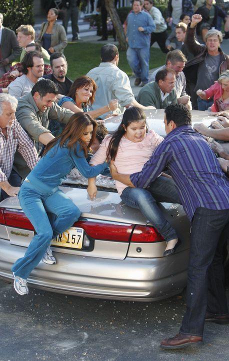 Lynette ruft die Nachbarn zu einer Demonstration auf, um Pauls Plan zu verhindern. Doch die friedlich geplante Aktion eskaliert plötzlich und es kom... - Bildquelle: ABC Studios