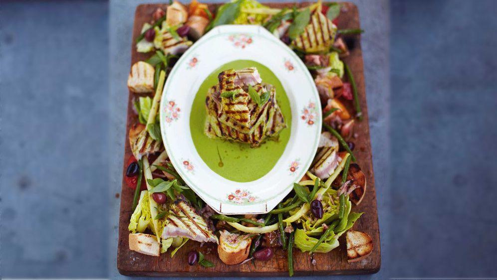 Gegrillter Thunfisch: Ein Rezept von Jamie Oliver