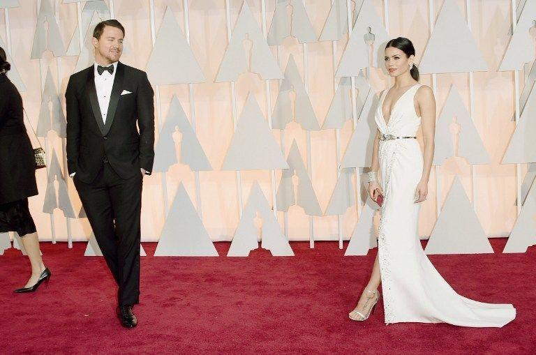 Oscars 2015: Channing und Jenna Dewan Tatum - Bildquelle: AFP