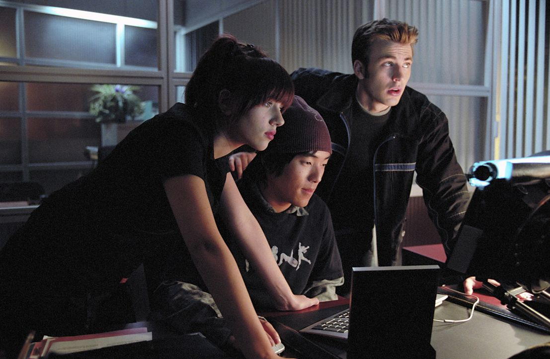 Ein Multiple-Choice-Test entscheidet darüber, ob und an welchem College jemand nach der Highschool studieren darf. Kyle (Chris Evans, r.) und Kiffe... - Bildquelle: Paramount Pictures