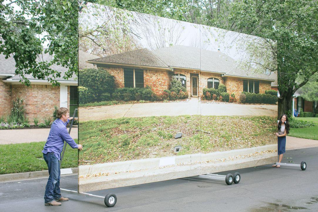 Chip (l.) und Joanna Gaines (r.) schaffen es wirklich, aus jedem noch so heruntergekommenen Haus wieder ein traumhaftes neues Zuhause zu erschaffen.... - Bildquelle: Rachel Whyte 2015, HGTV/ Scripps Networks, LLC.  All Rights Reserved.