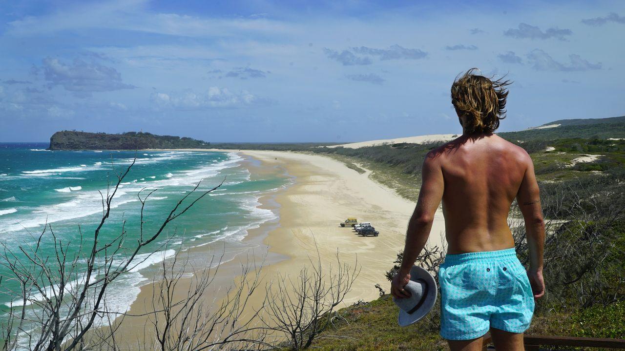 """Schon auf dem Weg zu den """"Champagne Pools"""" auf Fraser Island in Australien gibt es atemberaubende Aussichten zu bestaunen ... - Bildquelle: 2017,The Travel Channel, L.L.C. All Rights Reserved"""