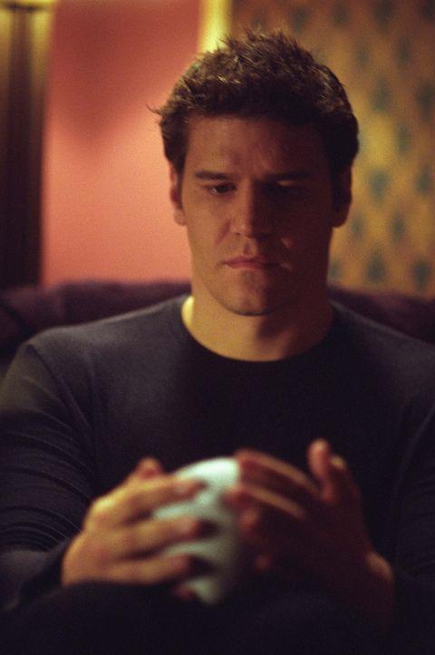 Angel (David Boreanaz) kündigt seinen Freunden an, dass er sein Kind an einen unbekannten Ort bringen wird ... - Bildquelle: 20th Century Fox. All Rights Reserved.