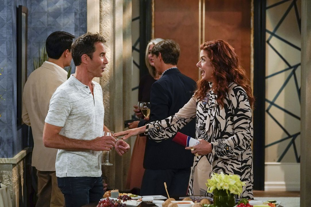 Will (Eric McCormack, l.); Grace (Debra Messing, r.) - Bildquelle: Chris Haston 2018 Universal Television LLC. ALL RIGHTS RESERVED. / Chris Haston