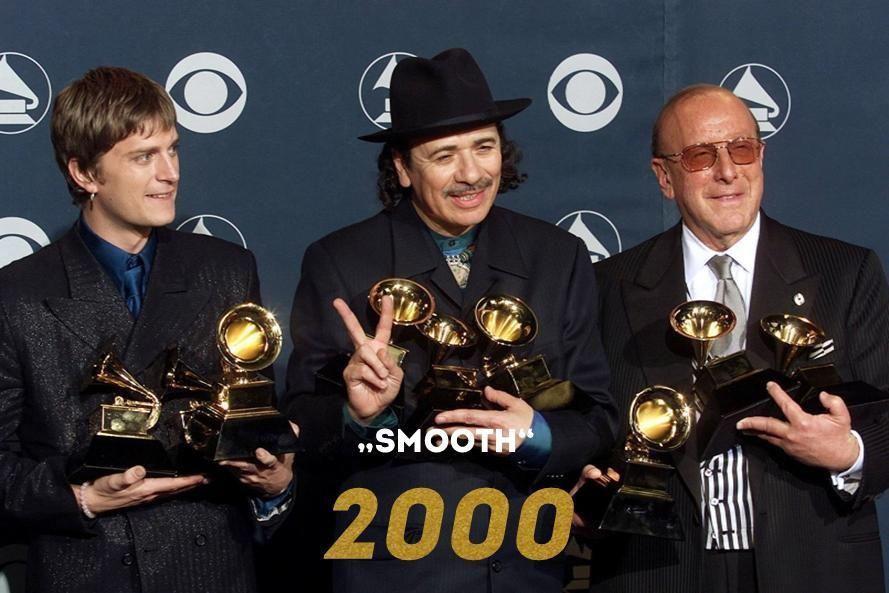 Grammy 2000: Smooth - Bildquelle: AFP
