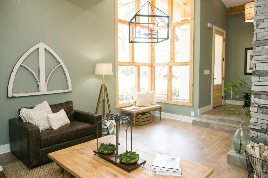 Mit einem Budget von 175,000$ und der Hilfe der Renovierungsprofis, erhofft sich die Morgan-Familie ein neues Traumhaus im Farmhouse-Style mit offen... - Bildquelle: Rachel Whyte 2016, HGTV/Scripps Networks, LLC. All Rights Reserved.
