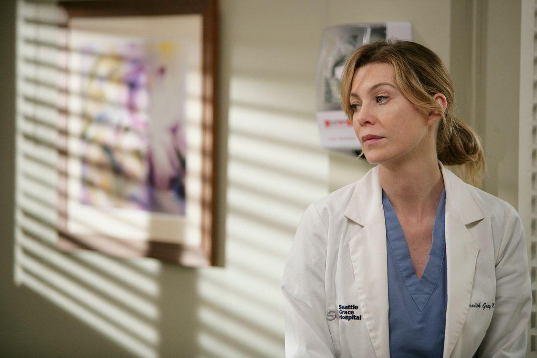 Meredith (Ellen Pompeo) versucht ihre Therapie abzubrechen, was sich jedoch als gar nicht so einfach erweist ... - Bildquelle: Touchstone Television