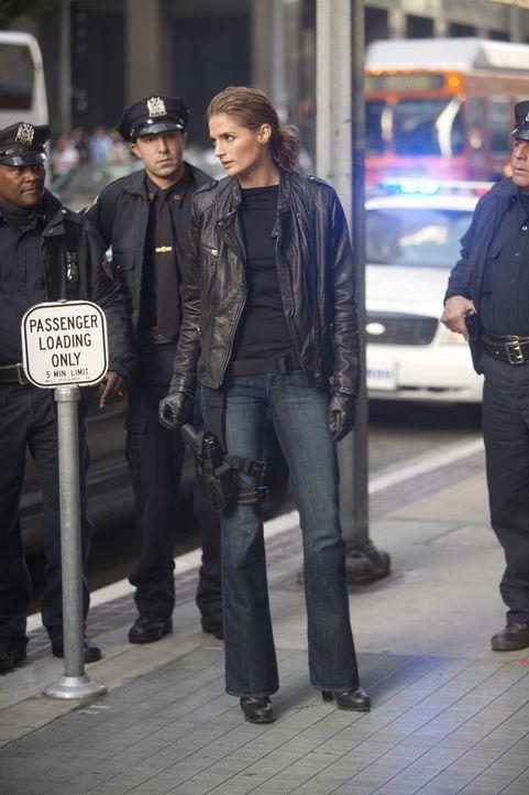 Immer wieder wird Kate Beckett (Stana Katic, M.) mit ihrer Vergangenheit konfrontiert, was sie ziemlich aus der Bahn wirft ... - Bildquelle: 2011 American Broadcasting Companies, Inc. All rights reserved.