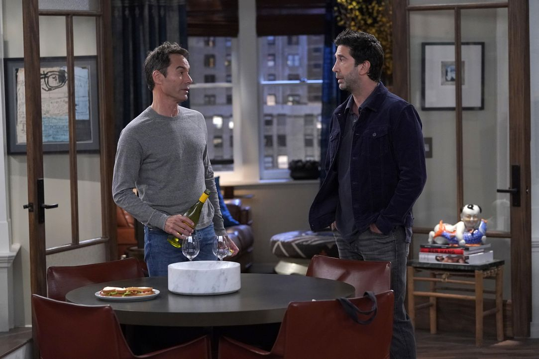 Will (Eric McCormack, l.); Noah (David Schwimmer, r.) - Bildquelle: Chris Haston 2018 Universal Television LLC. ALL RIGHTS RESERVED. / Chris Haston