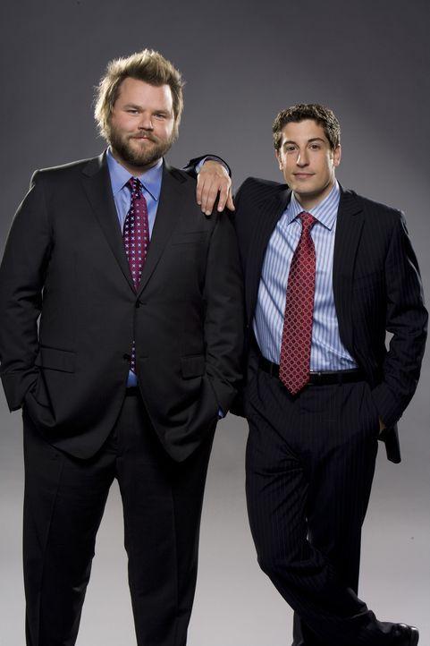 (1. Staffel) - Irgendwo in New York: Ben (Jason Biggs, r.) und Kate haben sich Hals über Kopf ineinander verliebt und schwören sich schon bald ewi... - Bildquelle: CPT Holdings, Inc. All Rights Reserved.