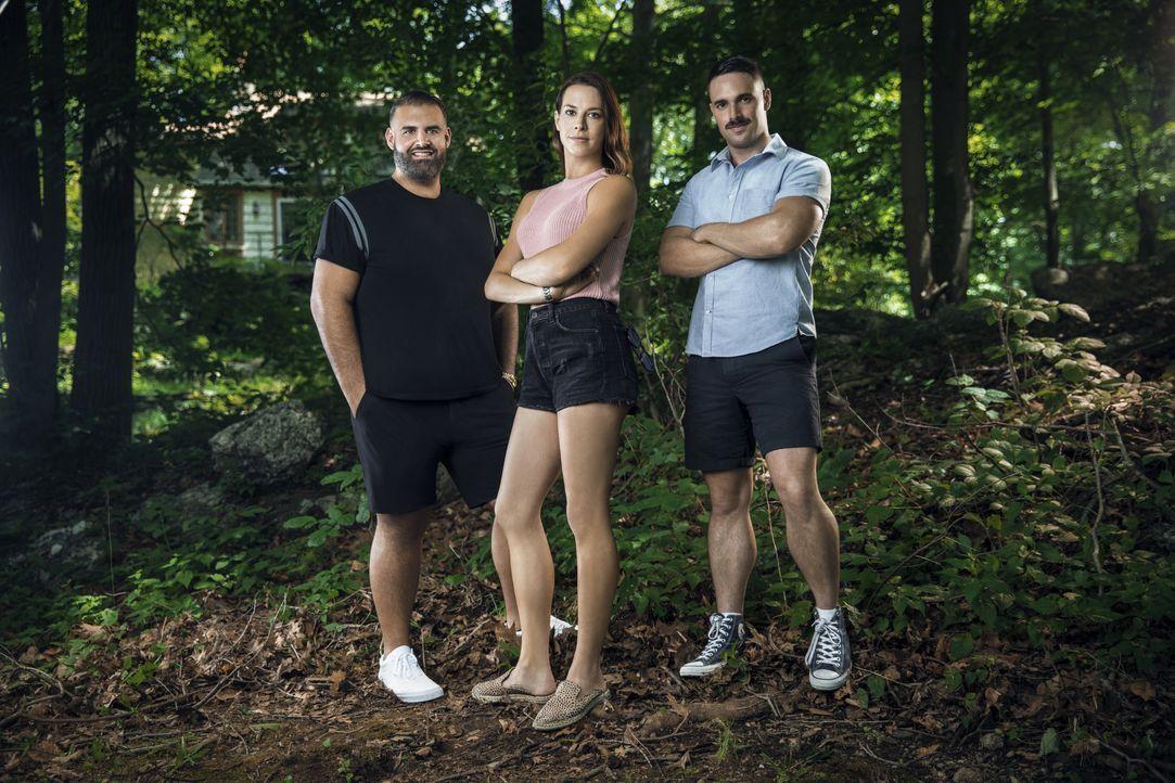 (1. Staffel) - (v.l.n.r.) James DeSantis; Mel Brasier; Garrett Magee - Bildquelle: Karolina Wojtasik 2018 Bravo Media, LLC / Karolina Wojtasik