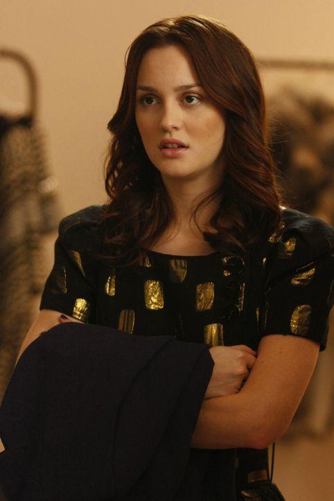 Blair (Leighton Meester) ist geschockt, dass Chuck sie gegen sein Hotel eintauscht. - Bildquelle: Warner Brothers