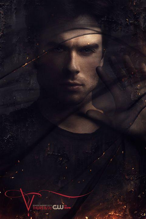 Ian Somerhalder als Damon Salvatore - Bildquelle: Warner Bros. Entertainment Inc.