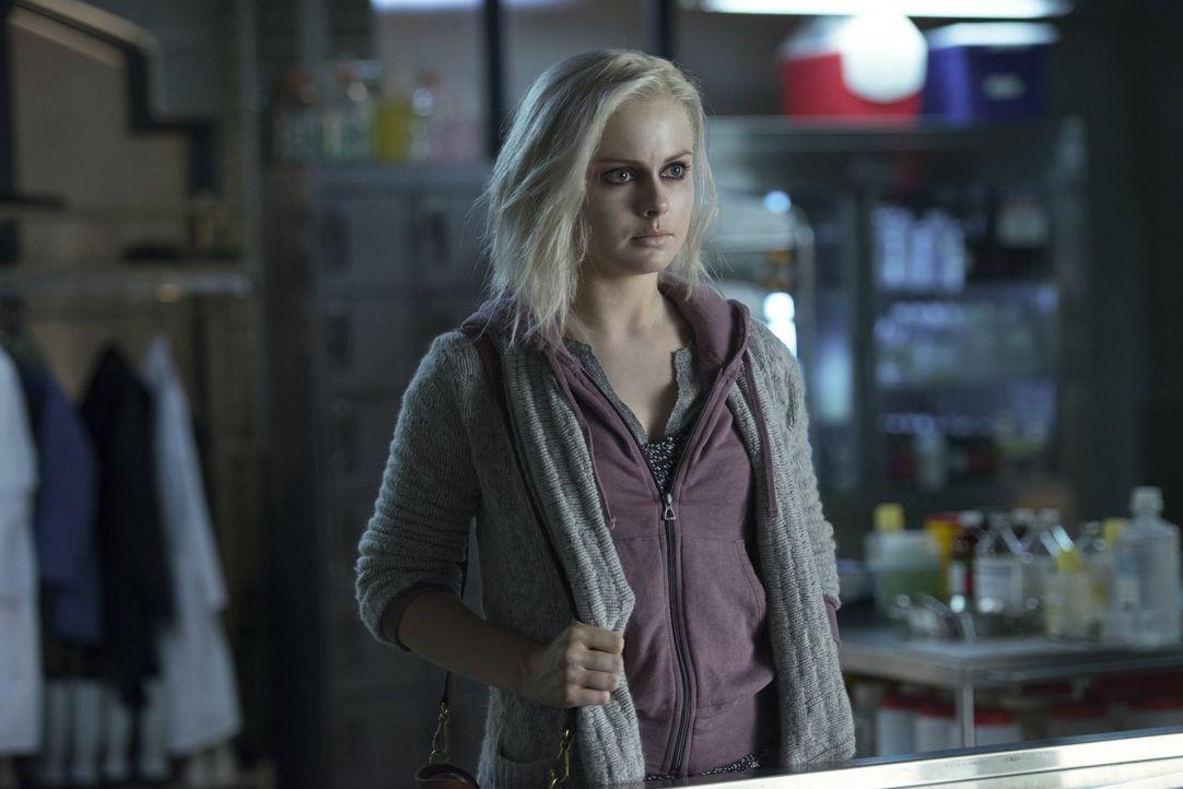 Nachdem Liv (Rose McIver) das Gehirn des Mordopfers verspeist hat, ist sie voller Tatendrang - Bildquelle: Warner Brothers