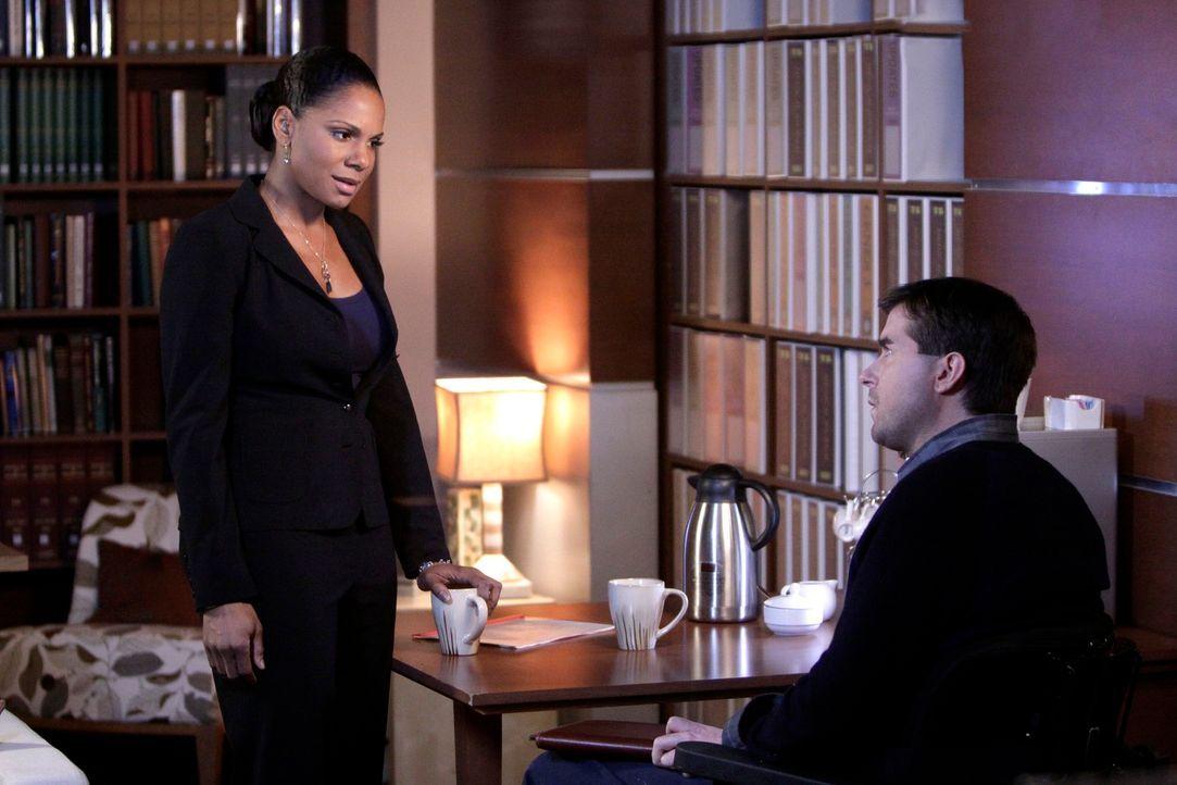 Dr. Gabriel Fife (Michael Patrick Thornton, r.) bringt Naomi (Audra McDonald, l.) durcheinander, als er ihr seine Liebe gesteht ... - Bildquelle: ABC Studios