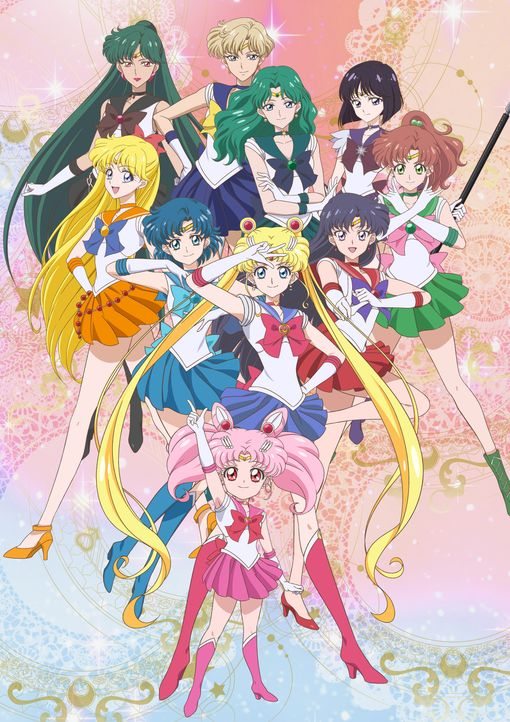 (3. Staffel) - Sailor Moon Crystal - Artwork - Bildquelle: Naoko Takeuchi/PNP/KODANSHA/TOEI ANIMATION