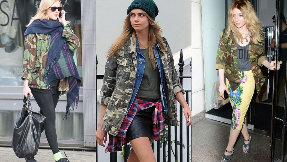 Mode Trend Camouflage: Gut getarnt im Military Style