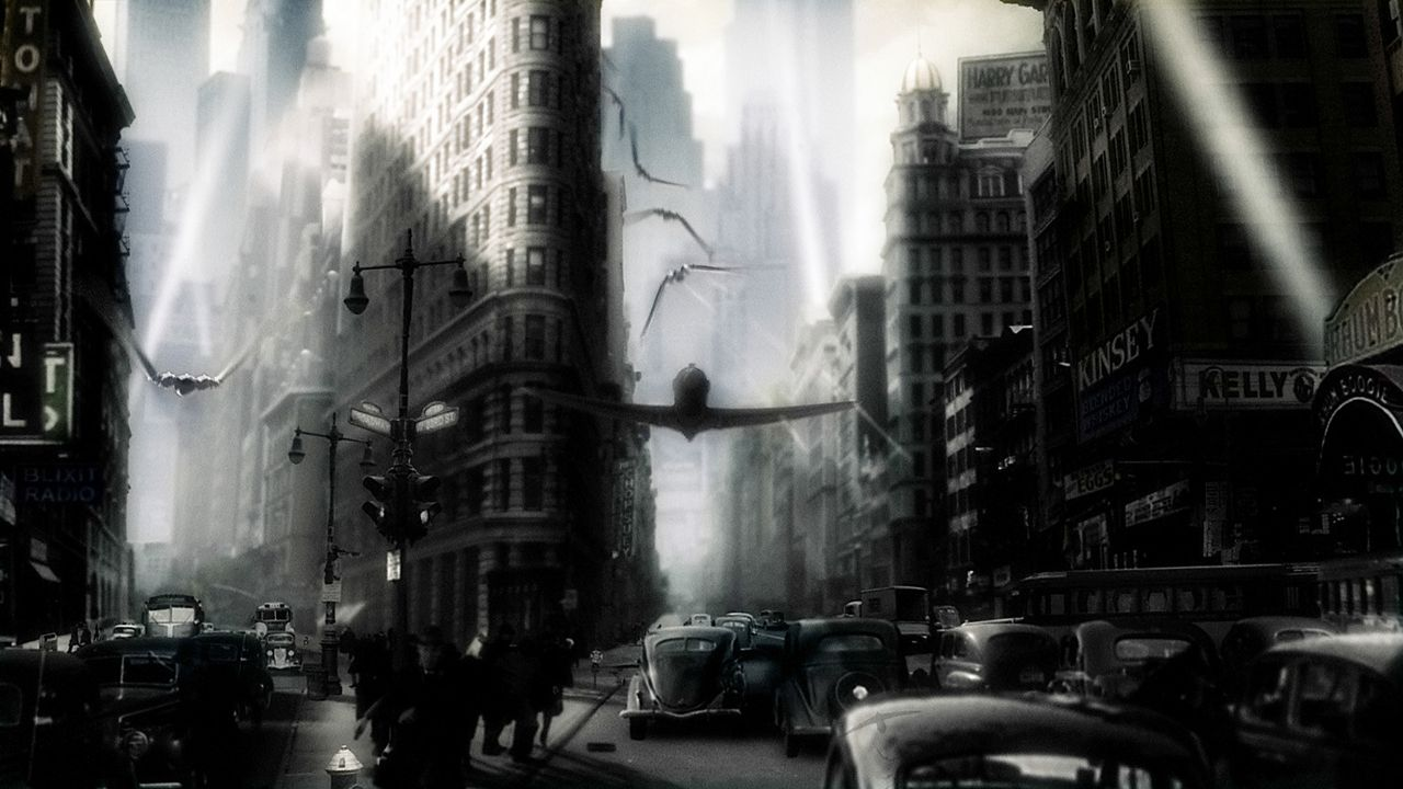 """Das geniale Superhirn """"Dr. Totenkopf"""" beherrscht eine Armee finsterer Kreaturen und plant die Vernichtung des Planeten. Können Polly und Sky... - Bildquelle: TM & Copyright   Brooklyn Films II And Filmauro S.R.L."""