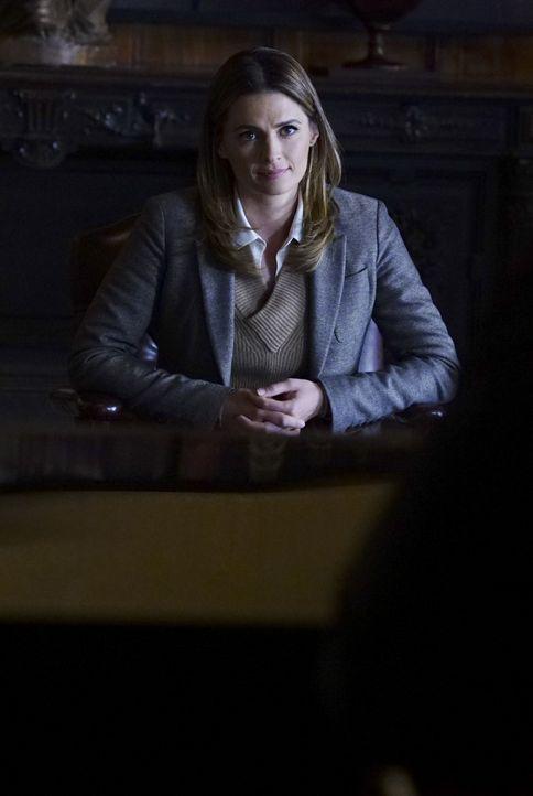 Verliert Kate (Stana Katic) aufgrund ihrer Beziehung zu Castle ihren Job? - Bildquelle: Richard Cartwright ABC Studios / Richard Cartwright