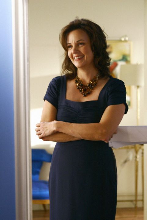 Blairs Mutter (Margaret Colin) ist frisch verliebt und möchte ihrer Tochter den neuen Mann in ihrem Leben vorstellen ... - Bildquelle: Warner Brothers