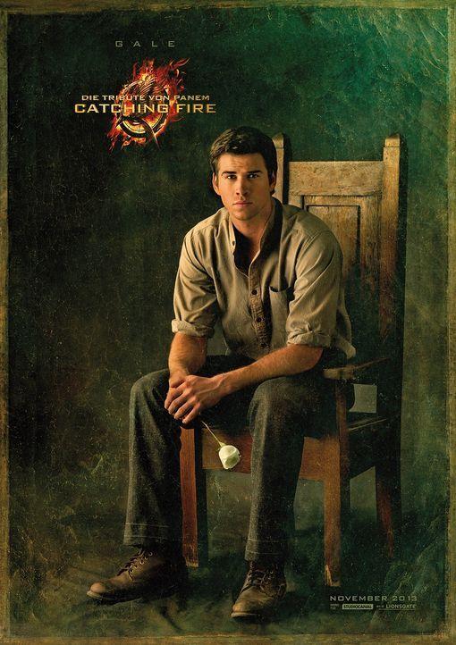 Liam Hemsworth als Gale in Catching Fire - Bildquelle: Studiocanal
