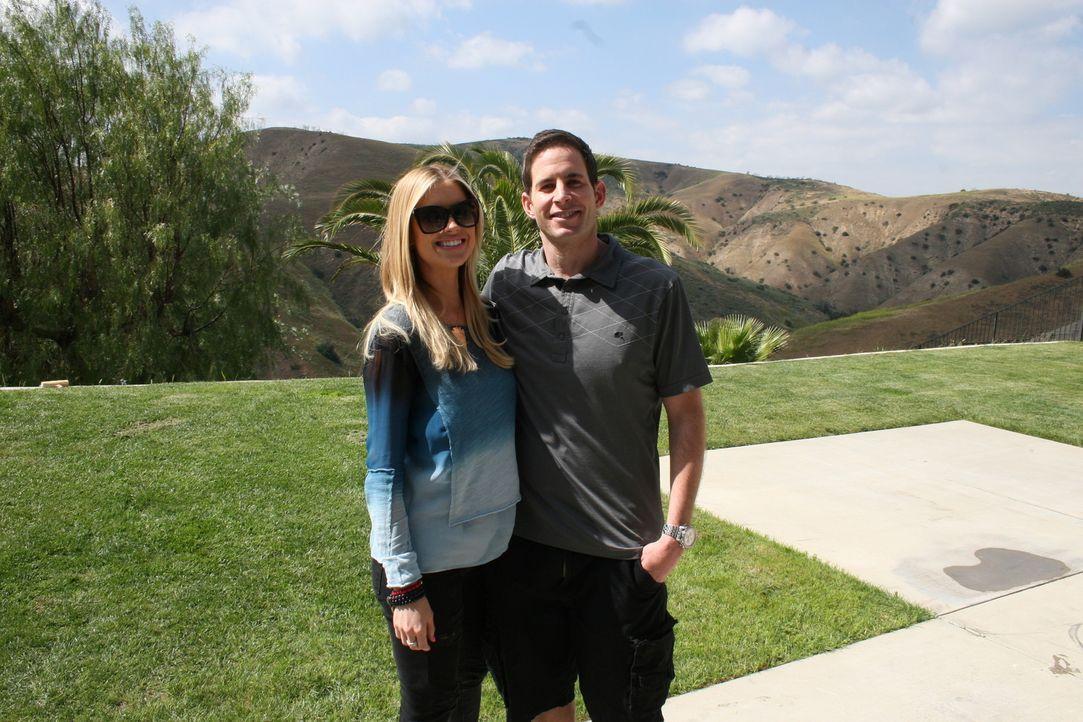 Machen Christina (l.) und Tarek (r.) wirklich die höchste Investition, die sie jemals riskiert haben? - Bildquelle: 2015,HGTV/Scripps Networks, LLC. All Rights Reserved