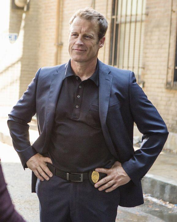 Der smarte Detective Tommy Sullivan (Mark Valley), der Megan Hunt nicht unbekannt ist, kommt nach Philadelphia zurück ... - Bildquelle: 2013 American Broadcasting Companies, Inc. All rights reserved.