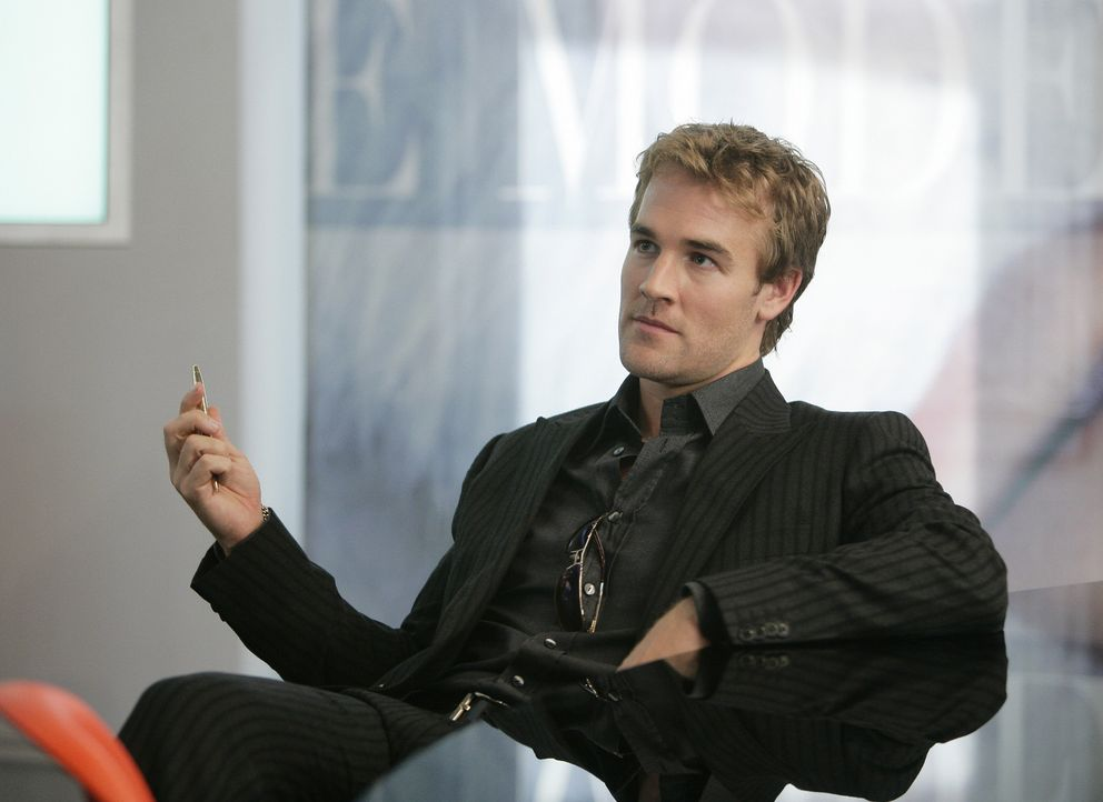 Luke Carnes (James Van Der Beek) macht Druck ... - Bildquelle: Buena Vista International Television