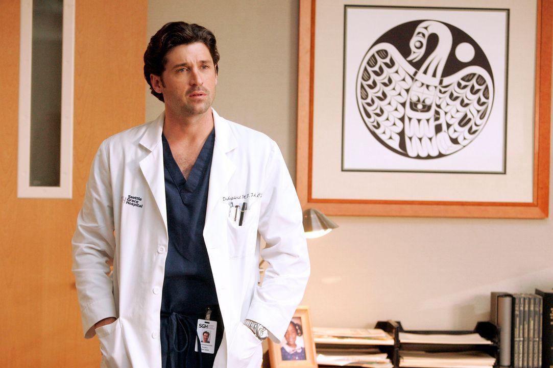 Hat die Beziehung zu Addison beendet: Derek (Patrick Dempsey) ... - Bildquelle: Touchstone Television