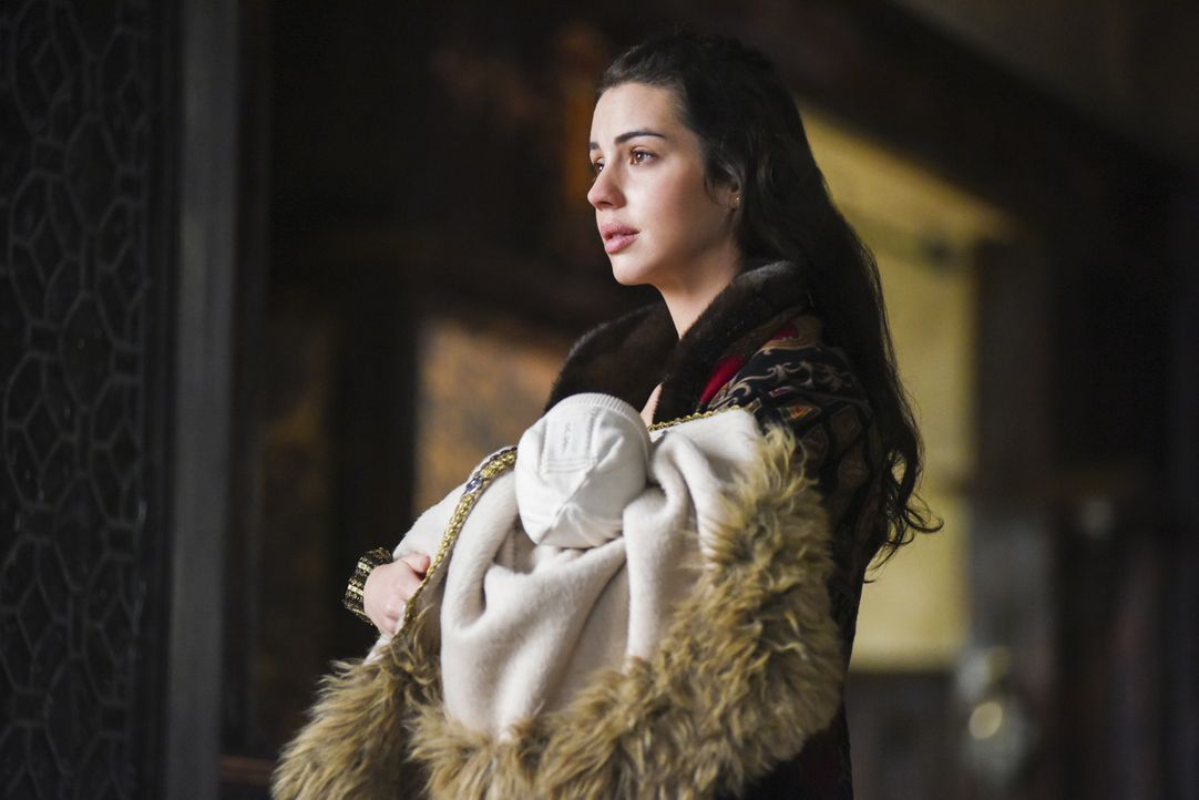 Nach der Geburt ihres Sohnes tut Königin Mary (Adelaide Kane) alles, um ihren Thronfolger zu beschützen ... - Bildquelle: John Medland John Medland /The CW --   2017 The CW Network, LLC. All Rights Reserved.