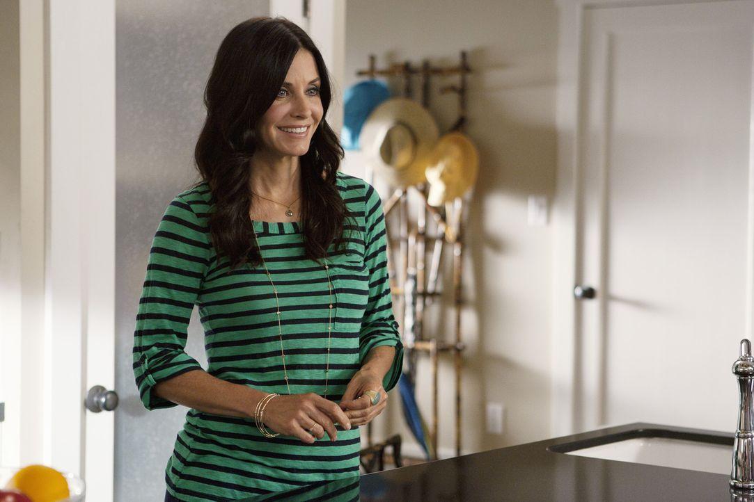 Erwatet Besuch von ihrem Vater: Jules (Courteney Cox) ... - Bildquelle: 2010 ABC INC.