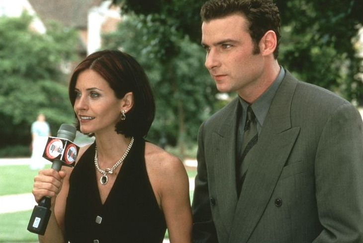 Gale Weathers (Courteney Cox, l.); Cotton Weary (Liev Schreiber, r.) - Bildquelle: Kimberly Wright Paramount Pictures and Miramax. All Rights Reserved. / Kimberly Wright