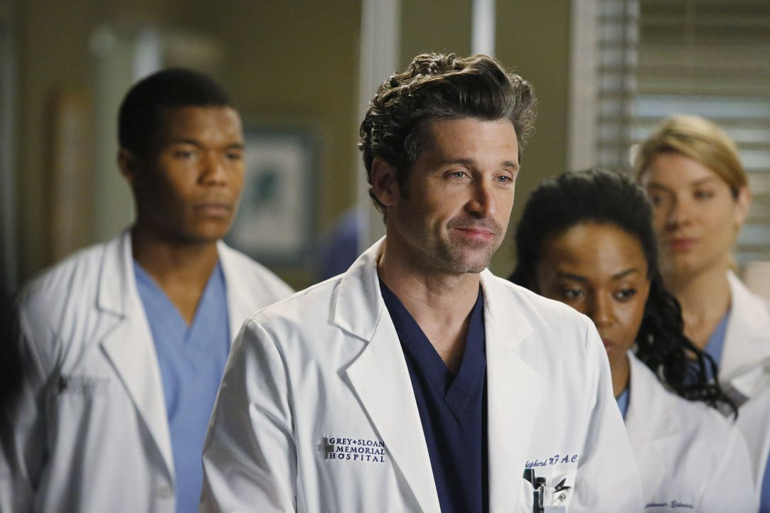 Der Druck auf Derek (Patrick Dempsey, vorne) wird sowohl bei der Arbeit als auch bei ihm zu Hause immer größer ... - Bildquelle: ABC Studios