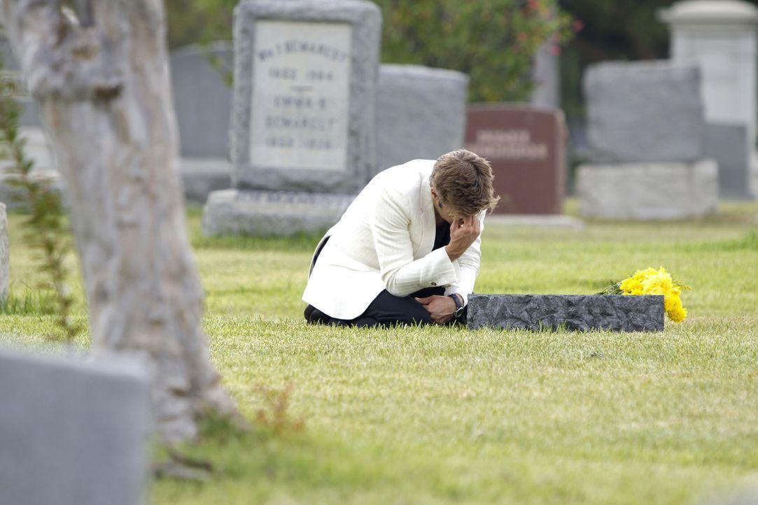 Kann solch ein trauernder Sohn ein Mörder sein? David (Shaun Sipos) - Bildquelle: 2009 The CW Network, LLC. All rights reserved.