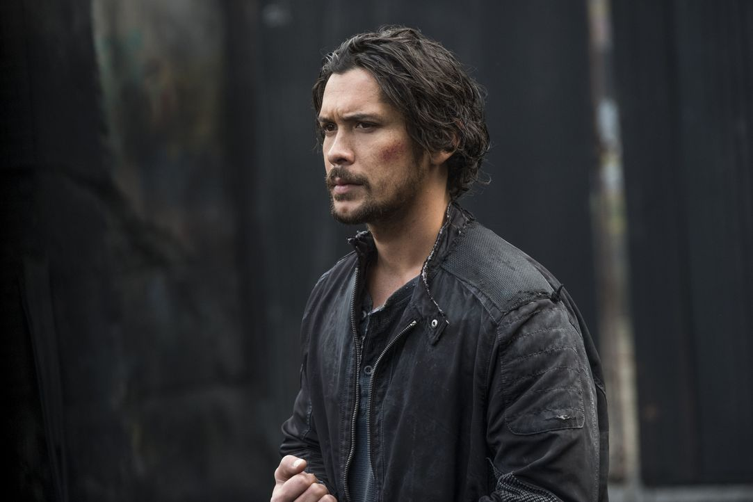Bellamy (Bob Morley) - Bildquelle: Katie Yu 2018 The CW Network, LLC. All rights reserved./Katie Yu