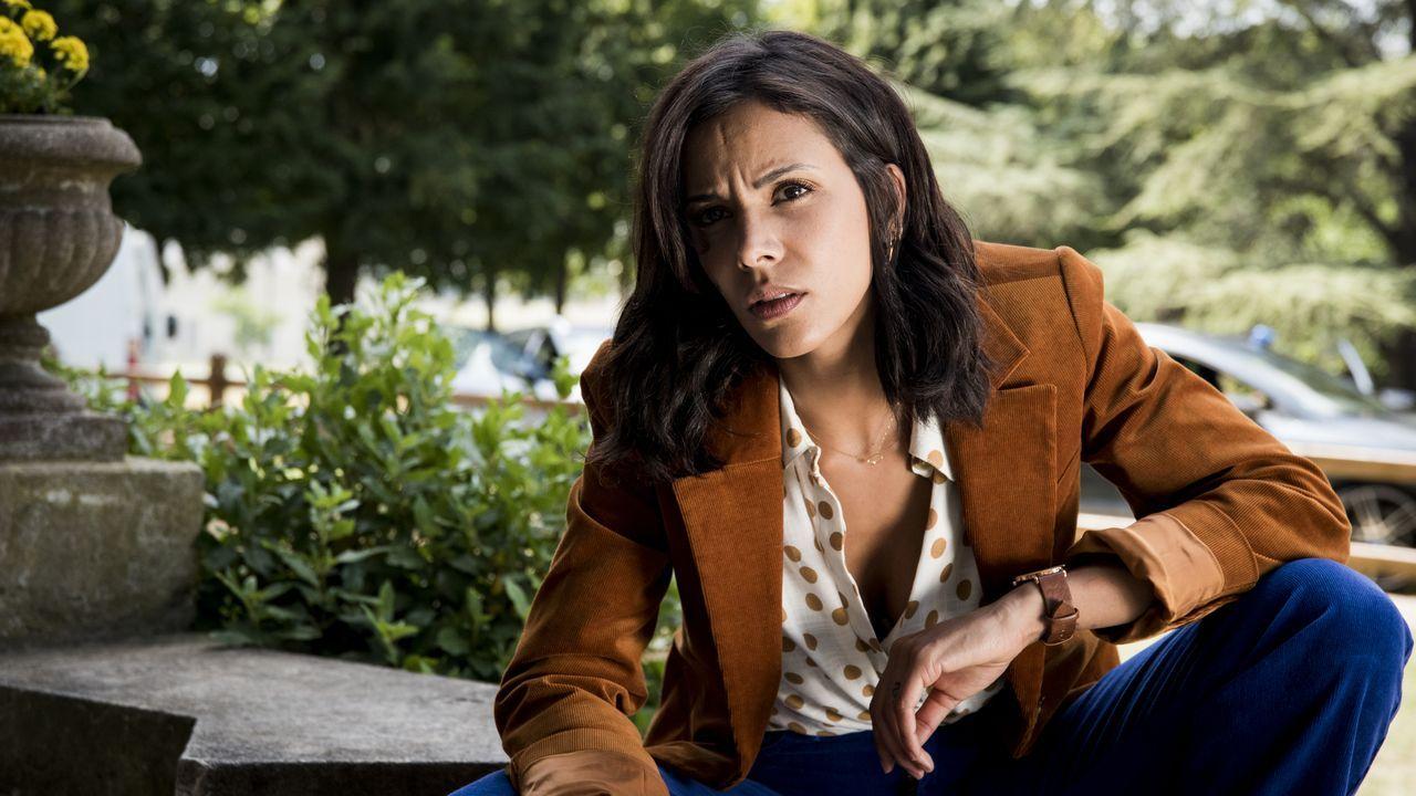 Elisa Bergman (Shy'm) - Bildquelle: Nicolas Roucou 2019 BEAUBOURG AUDIOVISUEL / TF1 / Nicolas Roucou