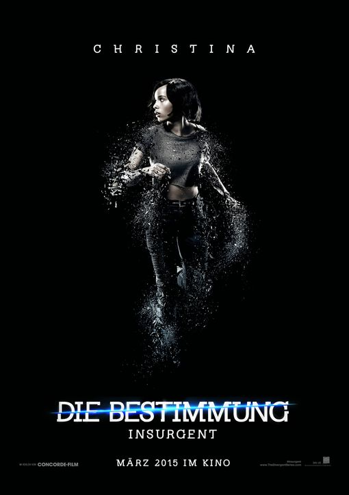 Zoë Kravitz spielt Christina, die beste Freundin von Tris (Shailene Woodley).  - Bildquelle: 2014 Concorde Filmverleih GmbH