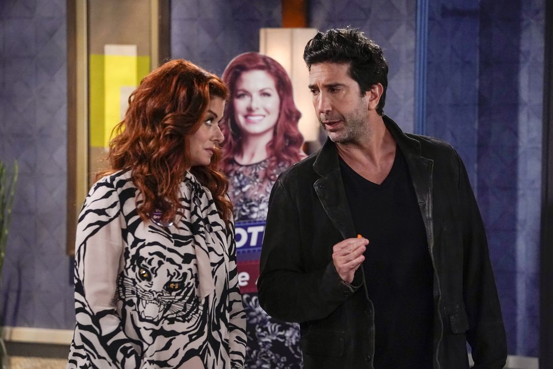Grace (Debra Messing, l.); Noah (David Schwimmer, r.) - Bildquelle: Chris Haston 2018 Universal Television LLC. ALL RIGHTS RESERVED. / Chris Haston