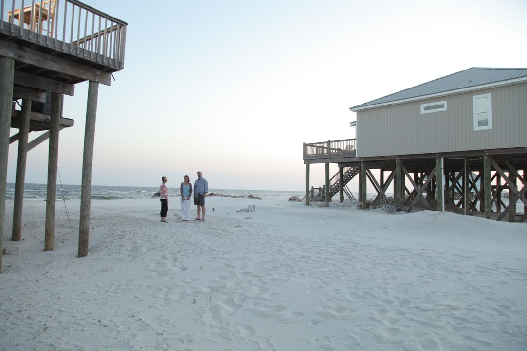 Haus am Strand gesucht: Werden Alisha und Daniel ein Stückchen Paradies direkt am Wasser auf Dauphin Island finden? - Bildquelle: 2013, HGTV/Scripps Networks, LLC. All Rights Reserved.