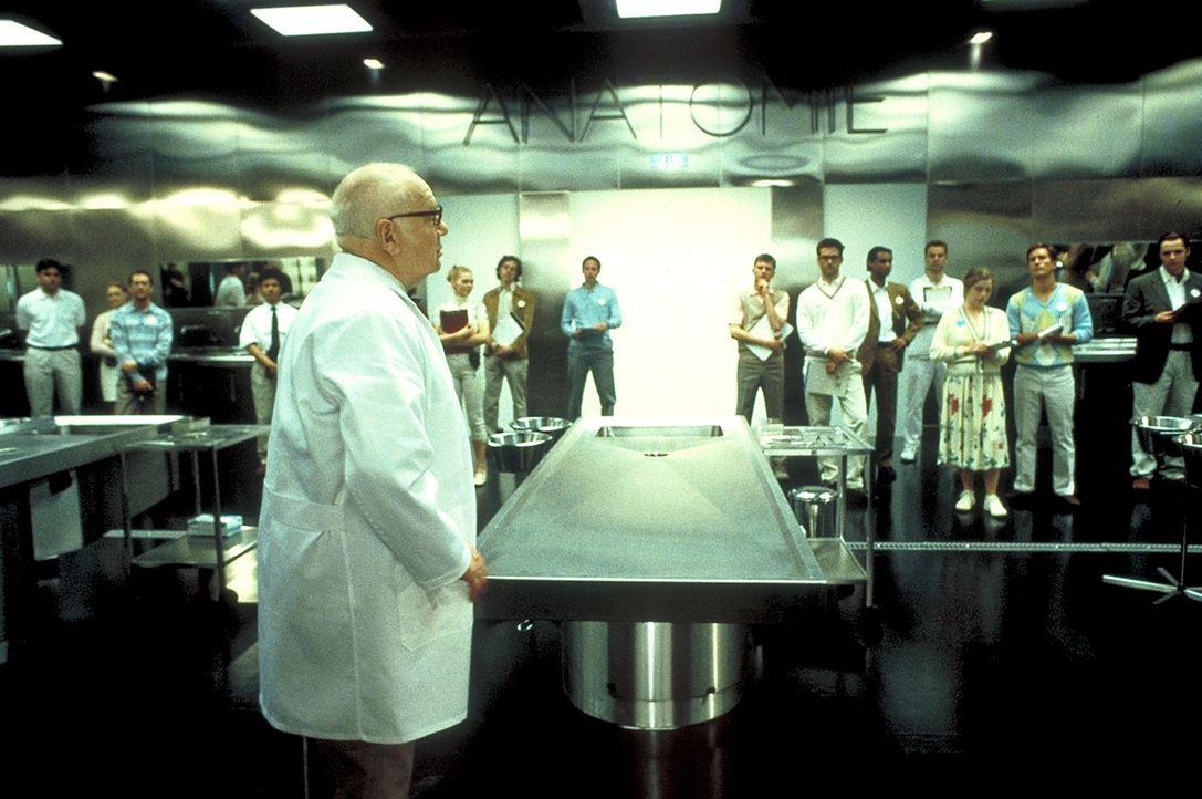 Einen legendären Ruf hat der Anatomie - Forschungslehrgang des Professors Grombeck (Traugott Buhre) in Heidelberg ... - Bildquelle: Columbia Pictures