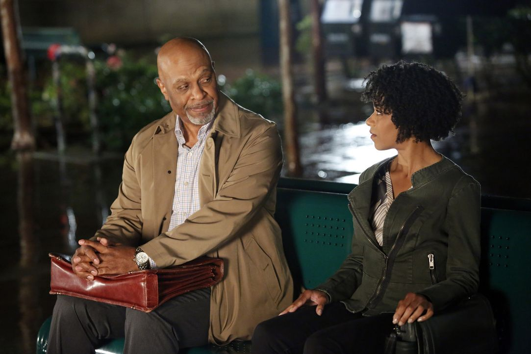 Ein kurzer Augenblick mit Dr. Maggie Pierce (Kelly McCreary, r.) verändert das Leben von Richard (James Pickens, Jr, l.) ... - Bildquelle: ABC Studios