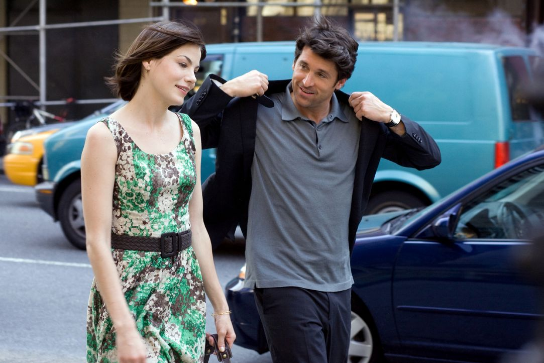 Großstadtsingles: Tom (Patrick Dempsey, r.) und Hannah (Michelle Monaghan, l.) sind seit zehn Jahren eng befreundet - bisher rein platonisch ... - Bildquelle: 2008 Columbia Pictures Industries, Inc. and Beverly Blvd LLC. All Rights Reserved.