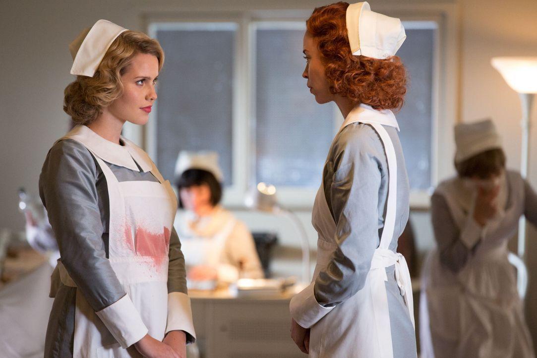 Rebekah hat ihren ganz eigenen Plan. Sie braucht die Hexe. - Bildquelle: Warner Bros. Entertainment Inc.