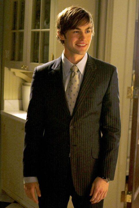 Noch ahnt Nate (Chace Crawford) nicht, dass Blair einen Deal mit seinem Großvater hat ... - Bildquelle: Warner Bros. Television