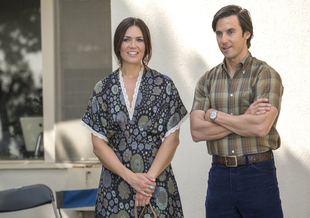 Rebecca Malone (Mandy Moore, l.); Jack Pearson (Milo Ventimiglia, r.) - Bildquelle: Ron Batzdorff 2018-2019 NBCUniversal Media, LLC.  All rights reserved./Ron Batzdorff