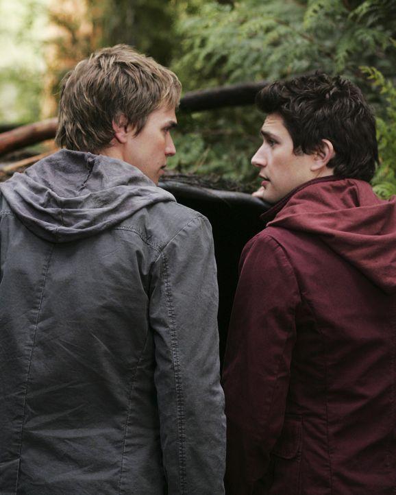 Ihre Neugierde hat fatale Folgen: Kyle (Matt Dallas, r.) und Declan (Chris Olivero, l.) begeben sich in große Gefahr, als sie die Ruine von Zzyzx b... - Bildquelle: TOUCHSTONE TELEVISION